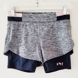 Abercrombie and Fitch girls shorts.